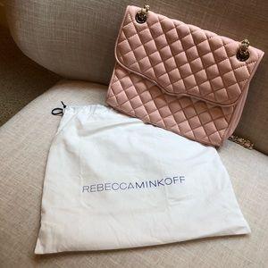 Rebecca Minkoff Pink Quilted Handbag